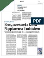 Rassegna Stampa 25.11.2013