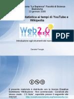 """Seminario """"Web 2.0 per la Statistica"""""""