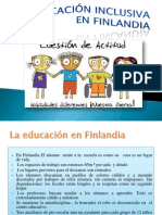 La Educación inclusiva EN FINLANDIA