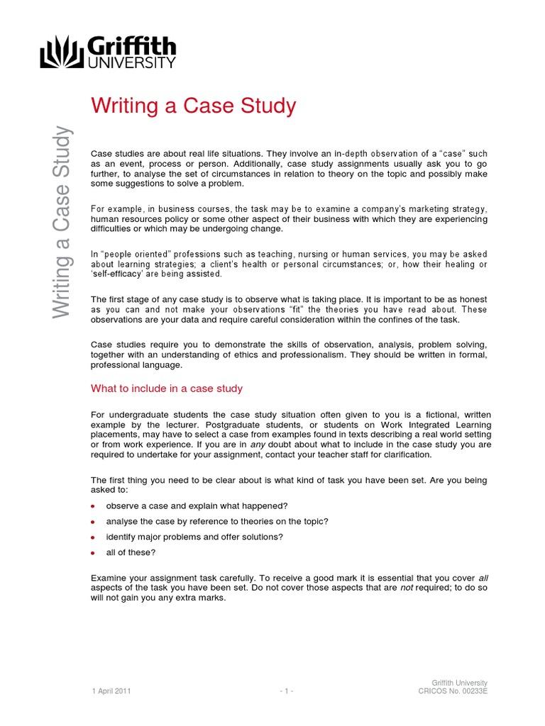 case study theory