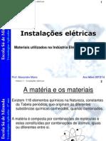 Materiais utilizados na indústria elétrica e eletrónica