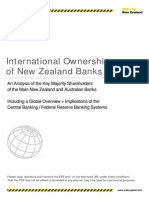 International Ownership of New Zealand Banks