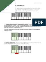 Intervalos musicales (Teoría Musical)