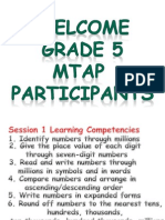 Mtap Session 1 July 27