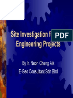 Introduction of Site Investigation