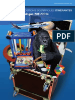 Catalogue expositions itinérantes 2013-2014