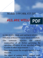 Module 3-Work Study