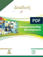 Handbook of Entrepreneurship Development