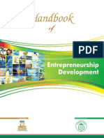Handbook of Entrepreneurship Development