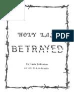 Schieber - Holy Land Betrayed (Struggle Against Zionist)(1987)