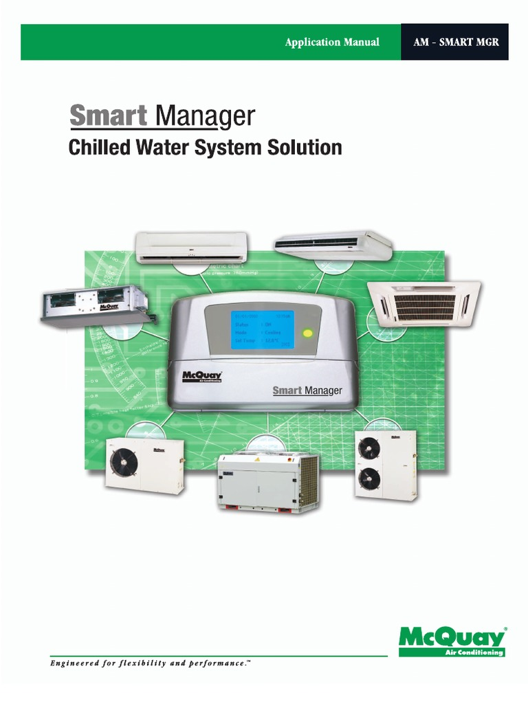 McQuay Smart Manager Application Manual | Heat Pump | Hvac