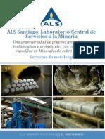 ALS Santiago Laboratorio Central de Servicios a La Minera Servicios de Metalurgia
