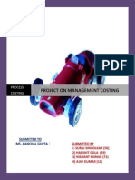 Costing Project PDF
