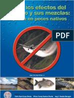 Efectos del glifosato y mezclas en peces nativos