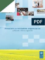 Prirucnik Za Nevladine Organizacije u Bosni i Hercegovini