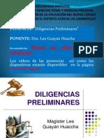 DILIGENCIAS PRELIMINARES - NCPP