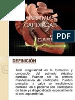 ARRITMIAS CARDIÁCAS