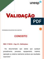 Aula Valida+º+úo de limpeza