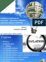 Cauzele și principalele forme ale inflației