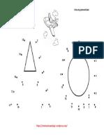 Grafomotricidad Ficha Con Puntos Letra A