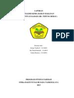 Laporan Penetapan Kadar Air-Termografimetri