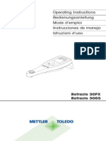 Mettler Toledo GS PX Refracto.usermanual