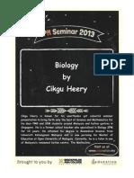 Cikgu Heery Biology Notes