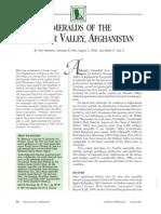 Emaralds of Panjshir Valley