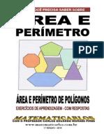 Area e Perimetro - Exercicio de Aprendizagem - Com Respostas