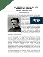 Nikola Tesla El Genio de Las Armas Invisibles