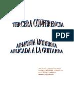 3_CONFERENCIA. Armonía Moderna y Guitarra