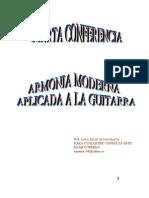 4_CONFERENCIA Armonía Moderna y Guitarra