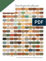 Recherché Furnishings Color Chart