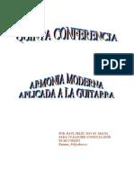 5_CONFERENCIA. Armonía Moderna y Guitarra