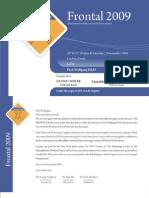 Frontal 2009 Brochure