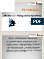 Unidad III_Presupuestos Operativos