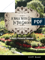A Walk With God In The Garden