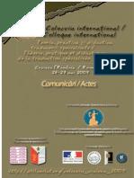 Actes Colloque Traduction Craiova 2009