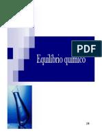 6 - Equilíbrio Químico - Química Geral - 2011