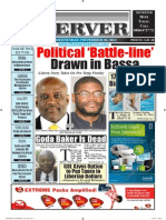 Liberian Daily Observer 11/20/2013