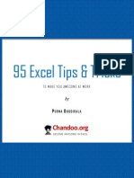 95 Excel Tips