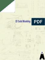 3D Solid Modeling CATIA R18
