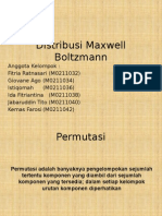 Distribusi Maxwell Boltzmann