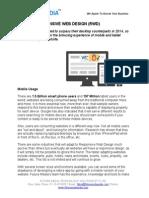 Responsive Web Design Development India - Future Media