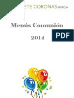 COMUNIONES 2014