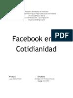 Facebook En la Cotidianidad