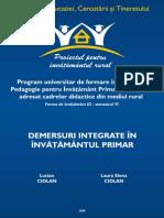Demersuri Integrate in Inv Primar