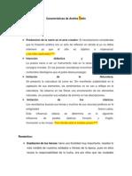 Características de Andrés bello Y Bonalde Lugo 06 puntos
