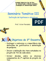 Slides - 3o Encontro