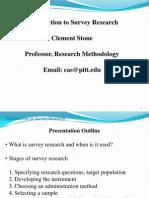 Survey Overview Ovr